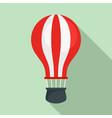 ballon air icon flat style vector image