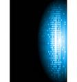Blue technology design vector image vector image
