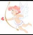cute cupid vector image