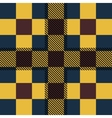 Set seamless British tartan pattern Plaid brown vector image vector image