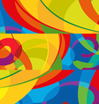 Abstract colorful background Modern design vector image vector image