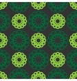 Abstract seamless pattern green color vector image vector image