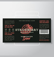 handcrafted fruit and berry spread or jam label vector image
