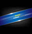 line banner abstract background and shadow vector image