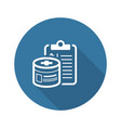 medication and medical services flat icon vector image