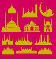 Mosque 2 vector image vector image