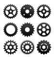 Pinions and gears set vector | Price: 1 Credit (USD $1)