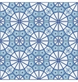Seamless pattern white Turkish Moroccan vector image vector image