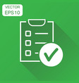 to do list icon business concept checklist task vector image vector image