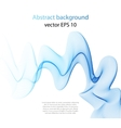 Wave abstract images color design vector image vector image