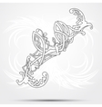 Celtic art-collection on a white background vector image