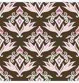 Abstract seamless vintage pattern for fabric vector image vector image
