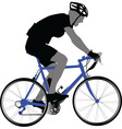 biker - vector image vector image
