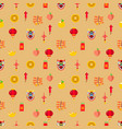 chinese new year graphic seamless pattern vector image vector image