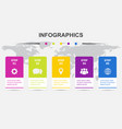 infographic design template with 5 steps