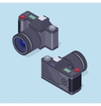 Isometric photo camera vector image vector image