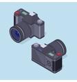 Isometric photo camera vector image vector image