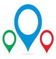 Navigation pin1 resize vector image