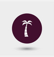 palm icon simple vector image vector image