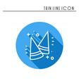 party cone hats icon party celebration birthday vector image