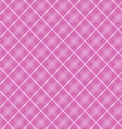 Seamless cross pink shading diagonal pattern vector image