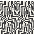 striped textured chevron optical vector image vector image