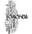 Your chicken recipe could win text word cloud vector image