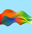 abstract colorful background color flow vector image vector image