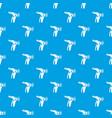 arthrit of knee pattern seamless blue vector image