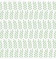 background decorative green branches foliage vector image