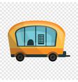 city info truck icon cartoon style vector image vector image