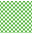 green seamless table cloth texture diagonal vector image