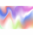 holographic abstract background holographic foil vector image vector image
