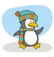 little penguin 1 vector image vector image