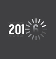 Loading Of 2016 Countdown vector image
