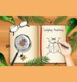 a doodle drawing ladybug anatomy