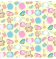 Baby toys seamless pattern vector image vector image