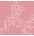 background Pink buttrefly vector image vector image