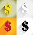 Dollar currency symbol vector image