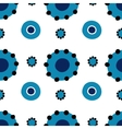 Dymkovo seamless pattern vector image vector image