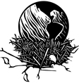 Earth Nest vector image