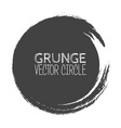 grunge circle element for your design rubber vector image