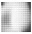 Monochrome halftone background