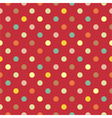 Polka dots seamless pattern vector | Price: 1 Credit (USD $1)