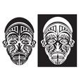 Tribal face art