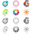 modern icons or logo elements vector image