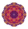Beautiful Deco Colored contour Mandala vector image