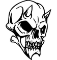 skull - halloween set vector image vector image
