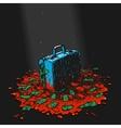 Symbol Blood Money vector image vector image