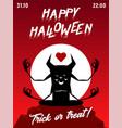 yoga halloween party vector image vector image